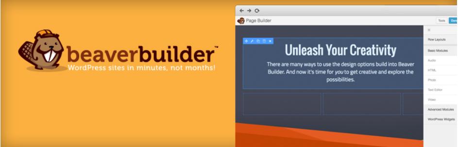 افزونه صفحه ساز Beaver Builde