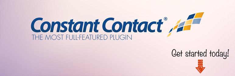 افزونه ایمیل مارکتینگ constant contact
